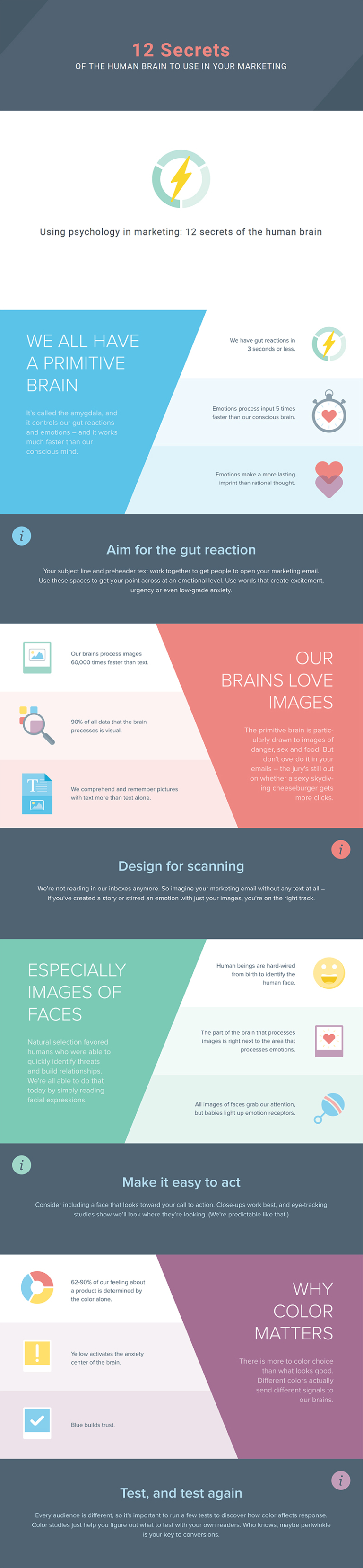 Infographic looks at the psychological principles of email marketing