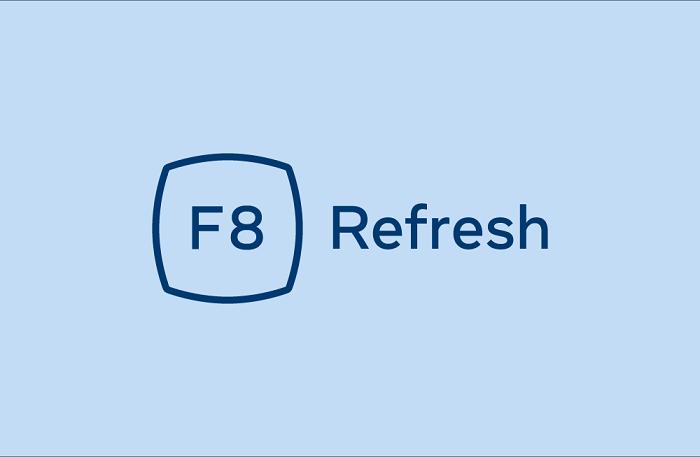 Facebook F8 Refresh logo