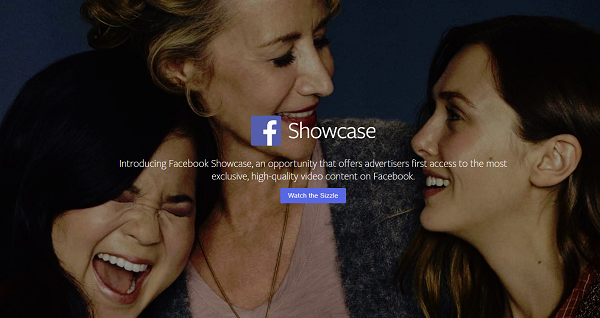 Facebook Showcase header
