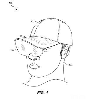 Facebook AR hat example