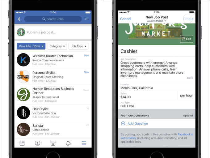 Facebook Expands On-Platform Job Advertising Tools to Over 40 Additional Countries | Social Media Today