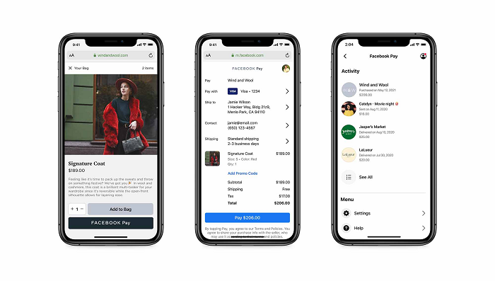 , Facebook Pay Will Now Be Available to Third-Party Platforms