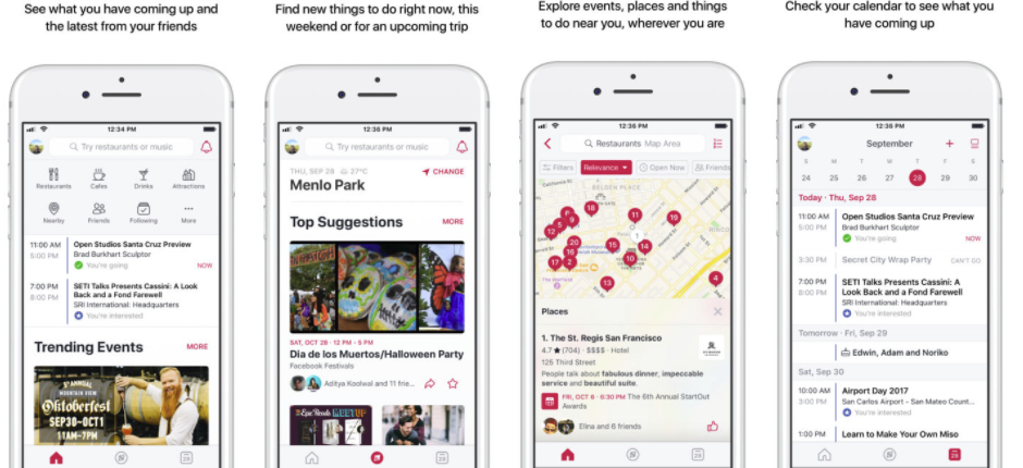 Facebook's Revamping it's Events App to Put More Focus on Local Happenings | Social Media Today