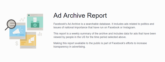 Facebook Ad Archive Report