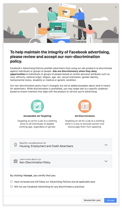 A new notification Facebook ad buyers will see