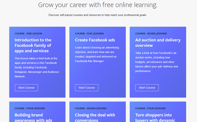 Facebook Adds 22 New, Free Training Modules to Facebook Blueprint                      | Social Media Today