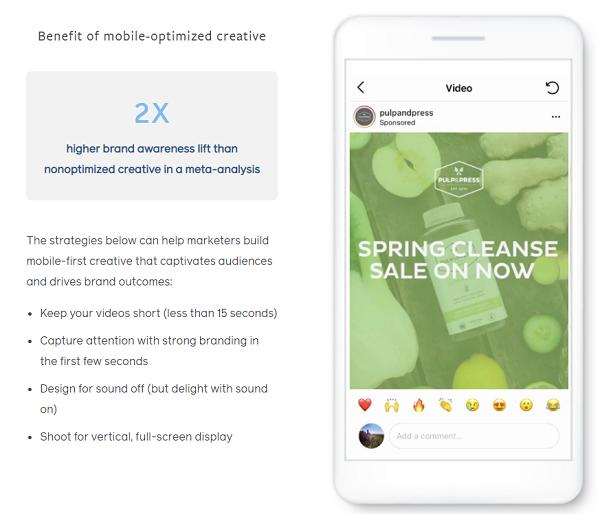 Facebook Brand Building study