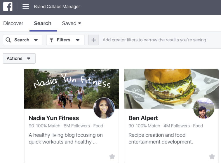 Facebook Announces 'Brand Collabs Manager' Platform to Connect Influencers with Brands | Social Media Today