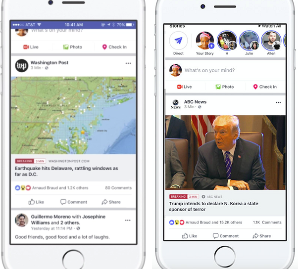 Facebook's Expanding Access to Their 'Breaking News' Tag for Publishers | Social Media Today