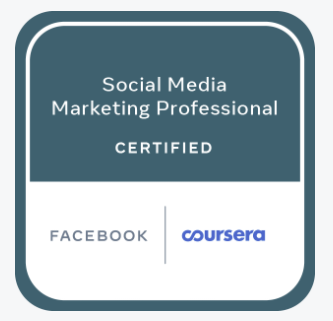 Badge de certification Facebook