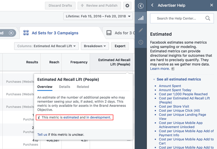 Facebook's Removing a Range of Ad Metrics and Adding New Data Labels for Context | Social Media Today