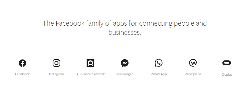 Facebook Family of Apps