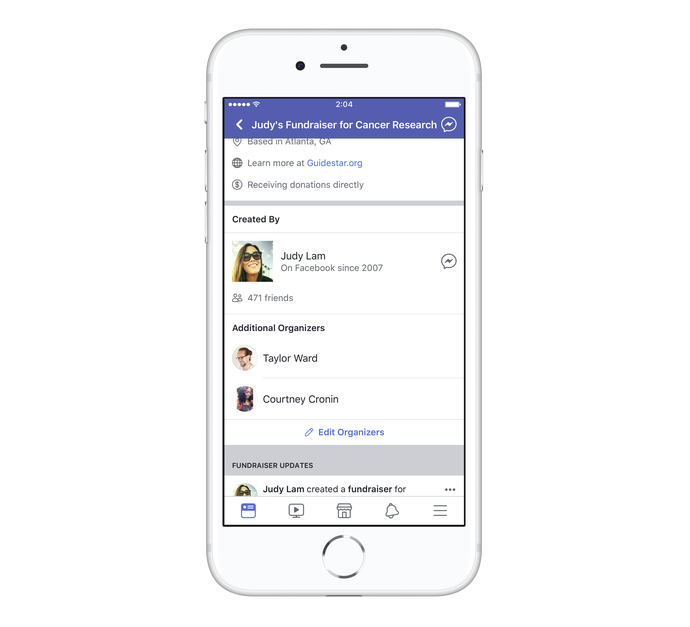 Facebook Adds New Tools for Nonprofit Fundraisers | Social Media Today