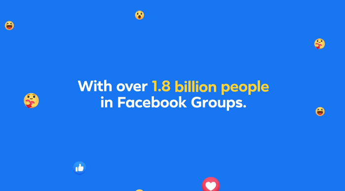 Facebook groups usage