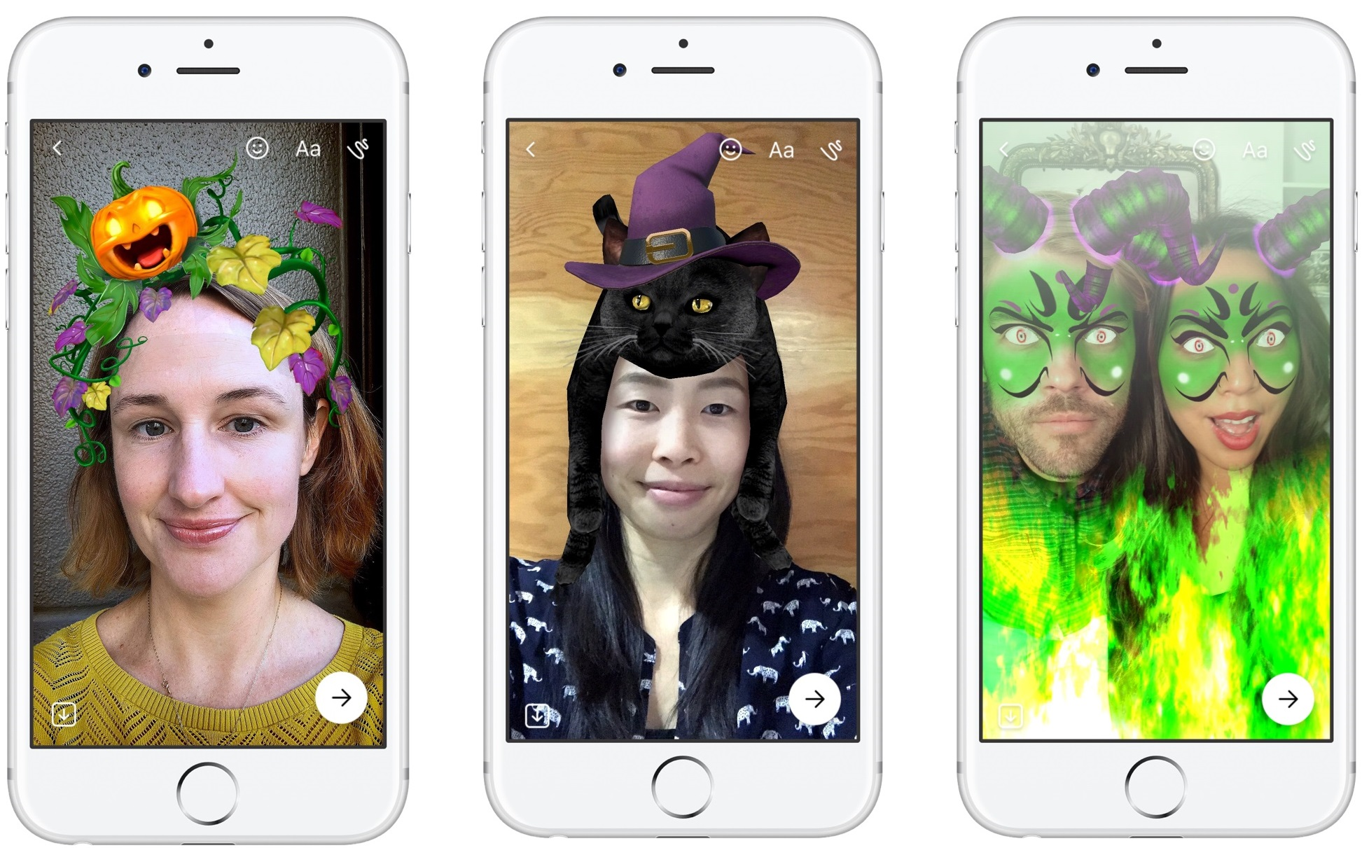 Instagram and Facebook Add New Features for Halloween, Including 'Super Zoom' | Social Media Today