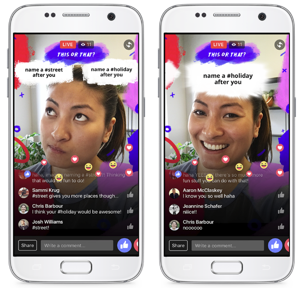 Facebook's Adding New Interactive Video Features, Including a HQ Trivia-Style Quiz Option | Social Media Today