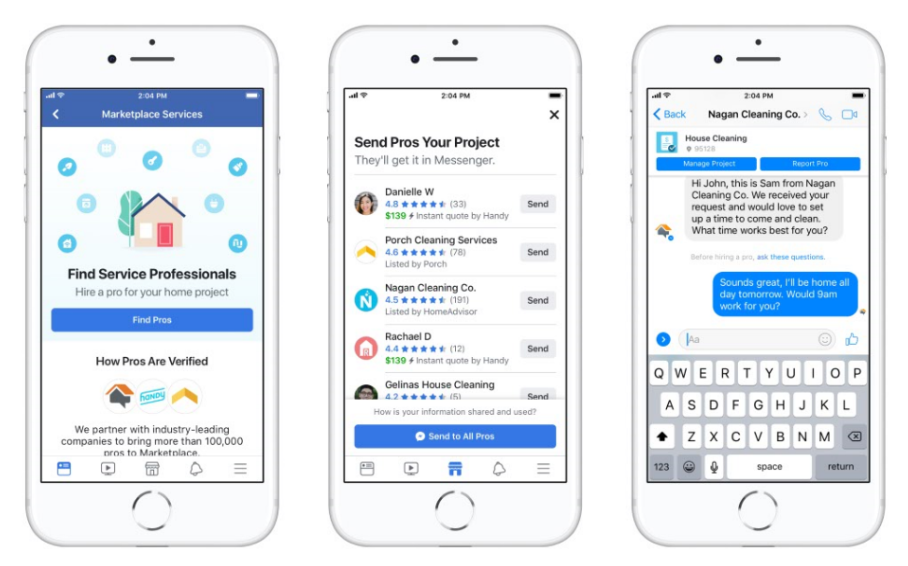 Facebook Adds New Home Services Directory to Marketplace | Social Media Today