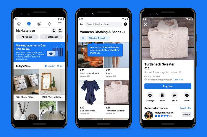 Facebook Marketplace Shipping