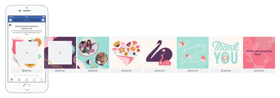 Facebook lança novas ferramentas para o Dia das Mães |  Mídias Sociais Hoje