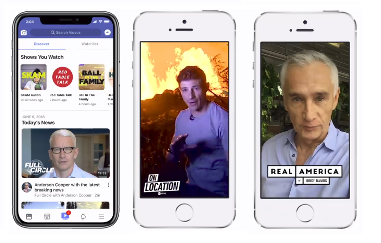 Facebook Announces New Slate of Video News Programs, Replacing Trending | Social Media Today
