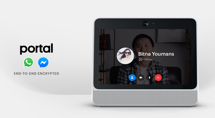 Facebook Portal WhatsApp integration