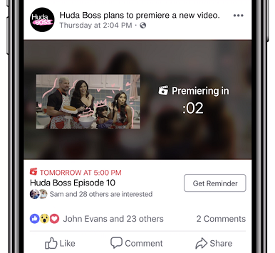 Facebook Adds New Video Tools