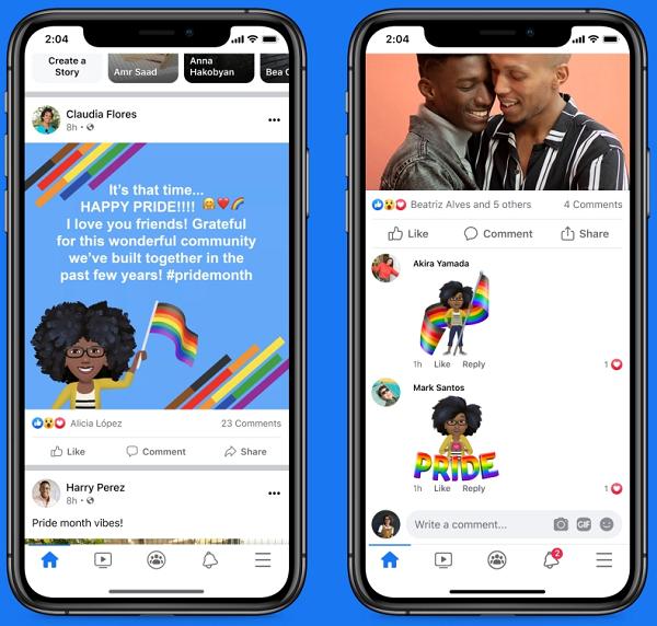 Facebook Pride Month