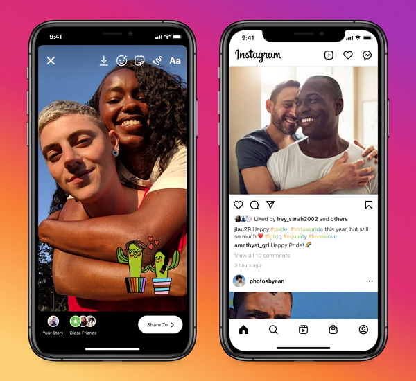 Instagram Pride Month