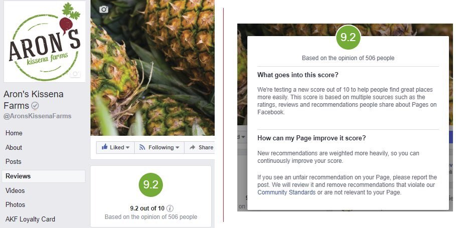 Facebook Tests New Rating System for Brand Pages | Social Media Today