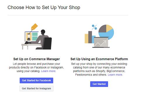 Facebook Commerce Manager