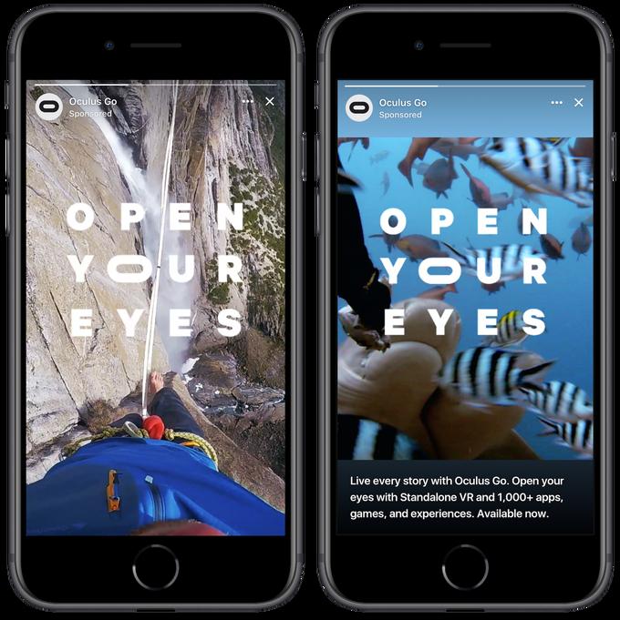 Facebook informa el uso de las historias de Facebook, comienza a probar las historias Anuncios | Redes sociales hoy