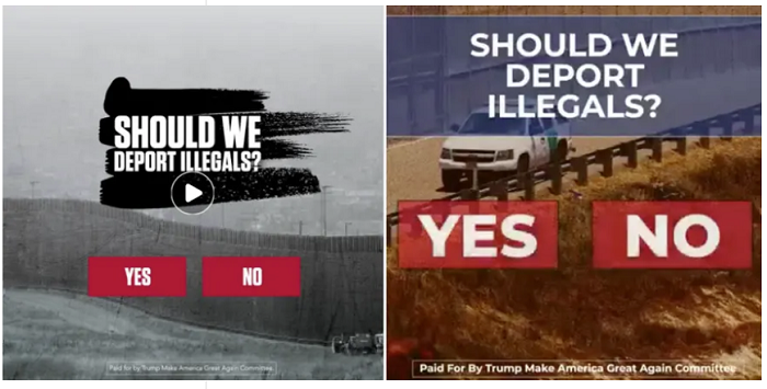 Facebook Trump ad