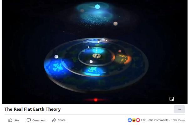 Flat Earth video
