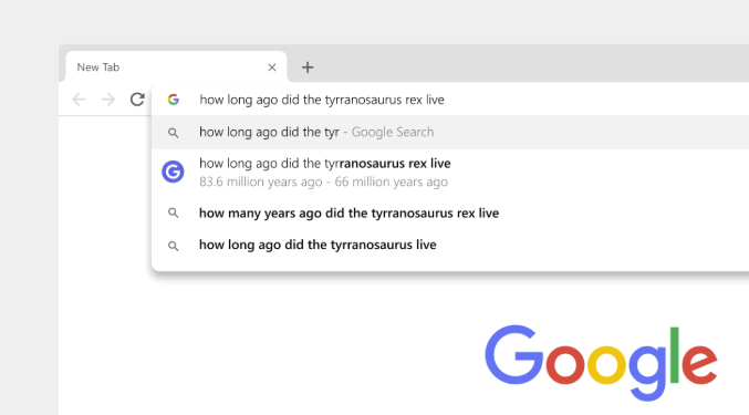 Updates to Google Chrome's 'Omnibox'