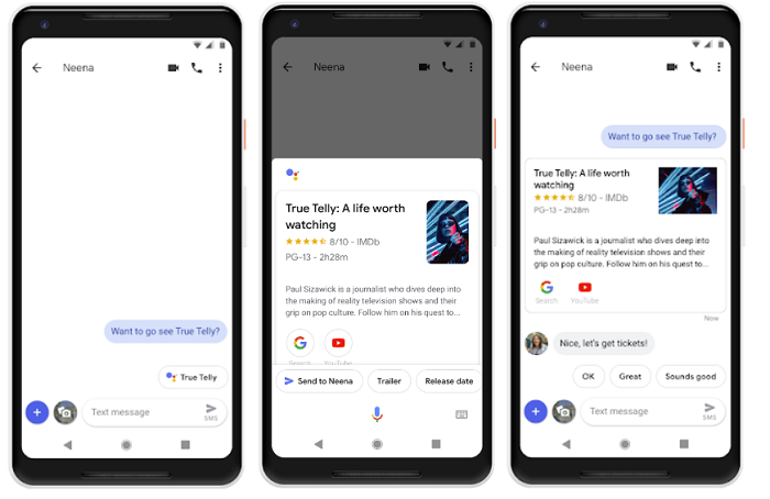Google Assistant in Messaging