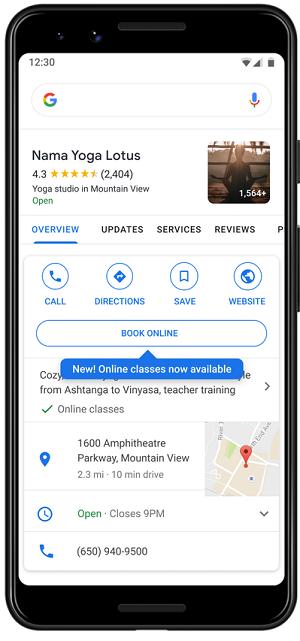 Google services changes
