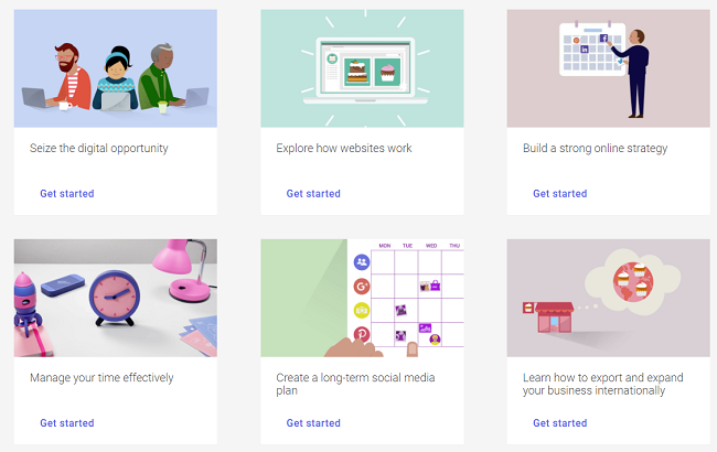 Google Garage courses