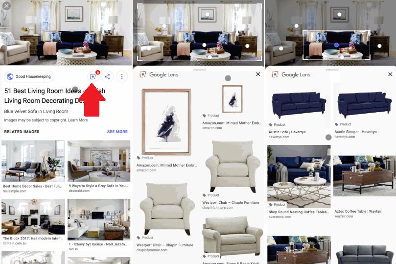 Google Lens [screenshots]