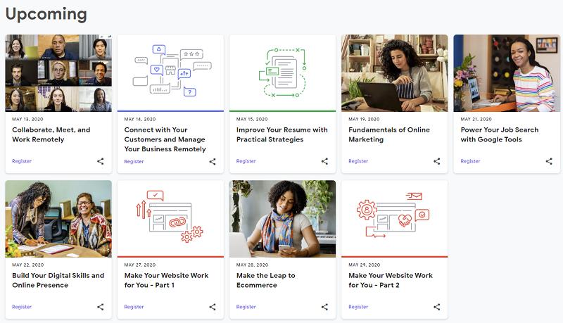 Google online education courses