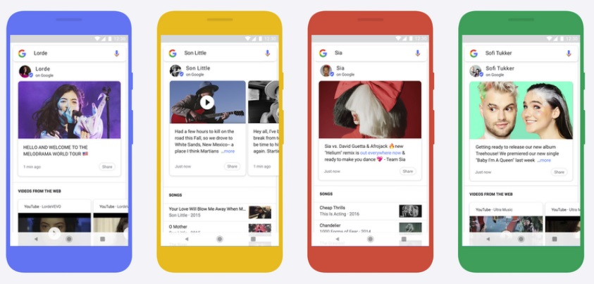Google's Adding Updates from Musicians to Search Results, Another Social-Like Feature | Social Media Today
