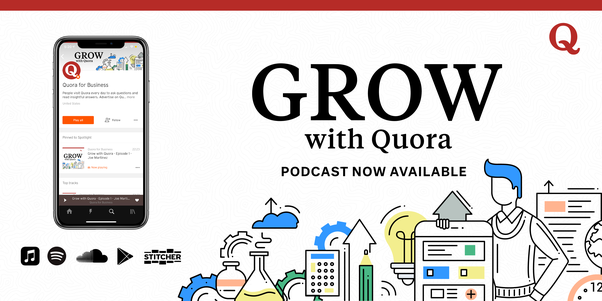 Grow with Quora podcast header