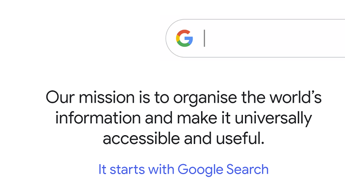 Google How Search Works example