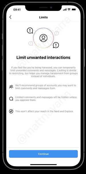 , Instagram Tests New Comment Limits