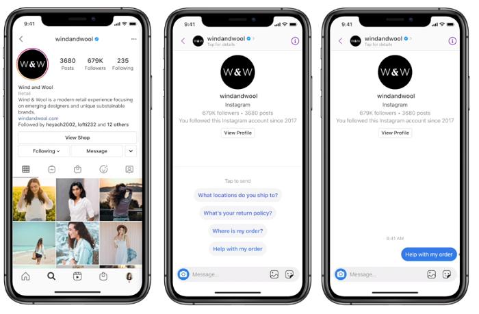 Instagram Message API