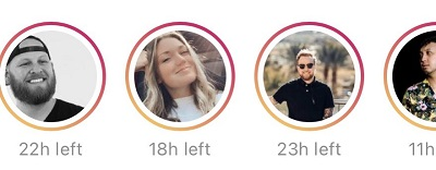 Instagram Stories timer