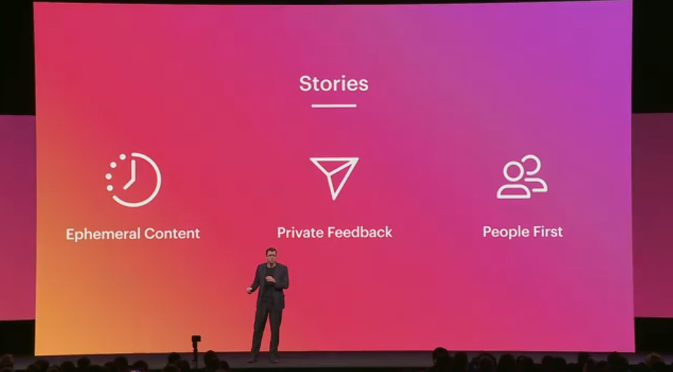 Instagram keynote at F8