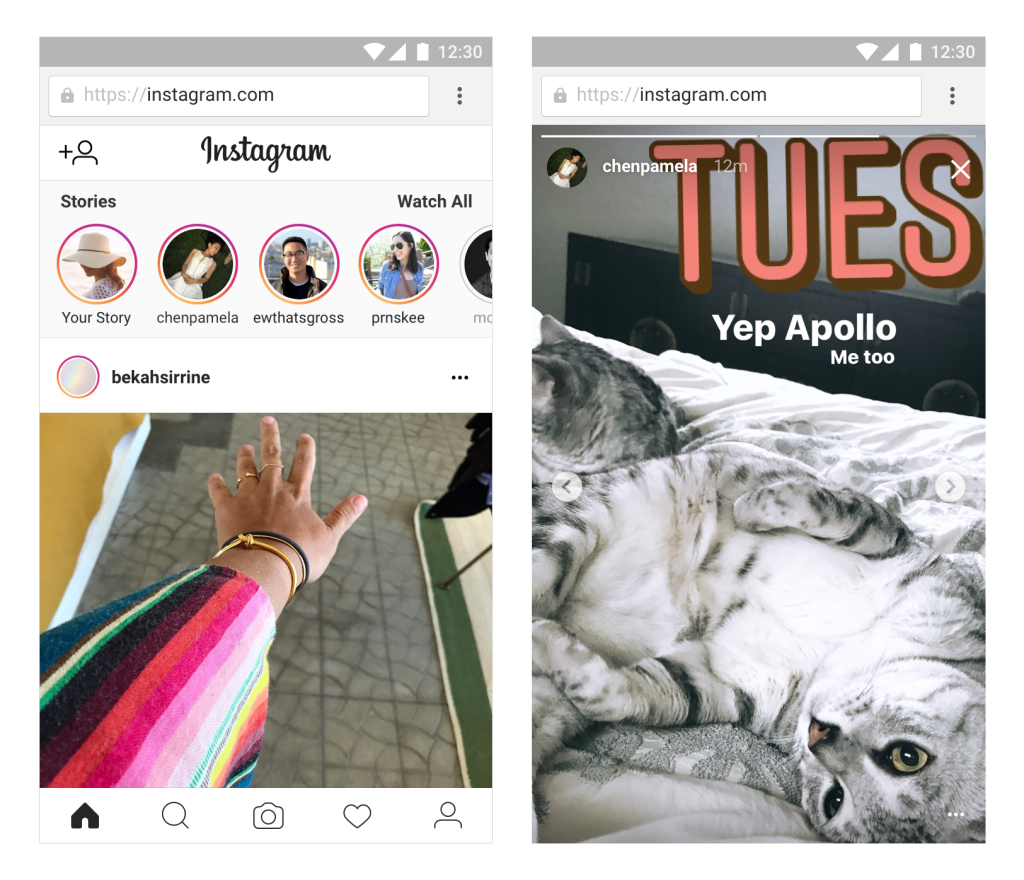 Instagram's Giving Users the Ability to Upload Basic Stories from the Web | Social Media Today