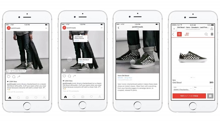 Inauguración de Instagram 'Etiquetas de compras' para más empresas | Social Media Today