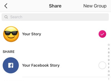 facebook stories for direct sales
