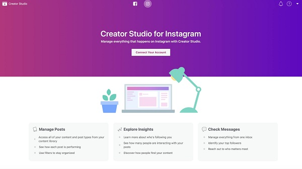 Instagram Creator Studio screenshot